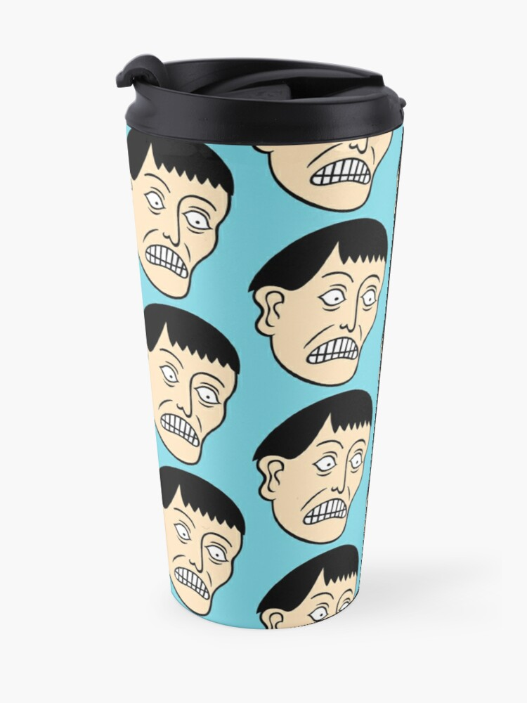 Alternate view of Looking down on the face of the earth Travel Mug