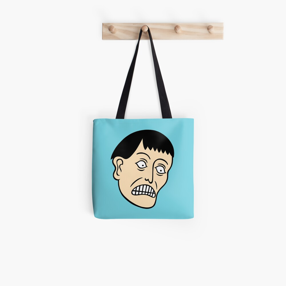 Looking down on the face of the earth Tote Bag