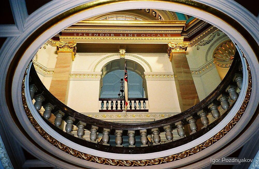 Victoria. The Dome inside the Capitol of British Columbia. Canada 2006 by Igor Pozdnyakov