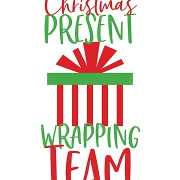 Christmas Wrapping Team by kjanedesigns