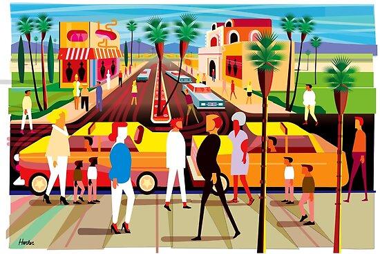 Palm Desert Shopping von Charles Harker