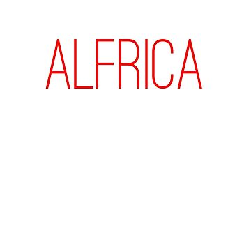 Alfrica by nonbinary