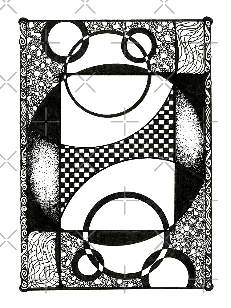Theoretical, Ink Drawing by Danielle Scott