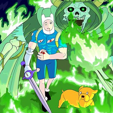 Adventure Time : Haunted by The Lich King by Nosek1ng