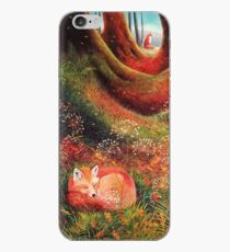 Sleeping Fox (2) iPhone Case
