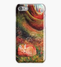 Sleeping Fox (2) iPhone 7 Case