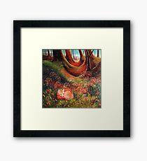 Sleeping Fox (2) Framed Print