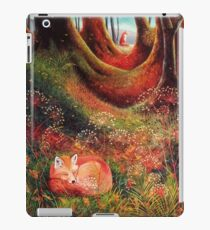 Sleeping Fox (2) iPad Case/Skin