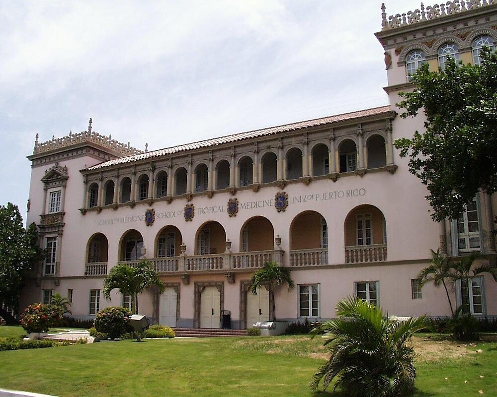 Old School of Tropical Medicine by Elias Santiago