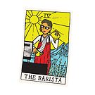 The Barista Tarot Card by Kevin Tudball