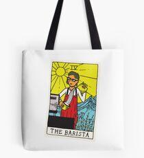 The Barista Tarot Card Tote Bag