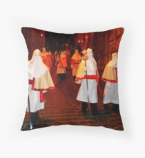 Enna, Sicily. Easter Procession VIII 2006  Throw Pillow