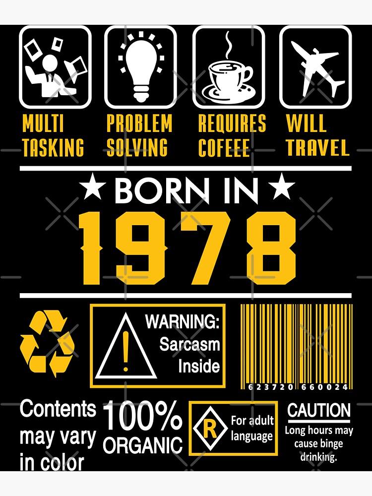 Birthday Gift Ideas - Born In 1978 by wantneedlove