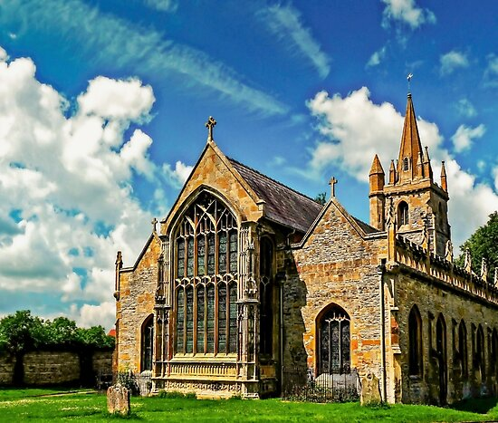 St Lawrences Church by ScenicViewPics