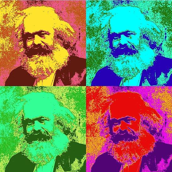 Karl Marx Pop Art von Chunga