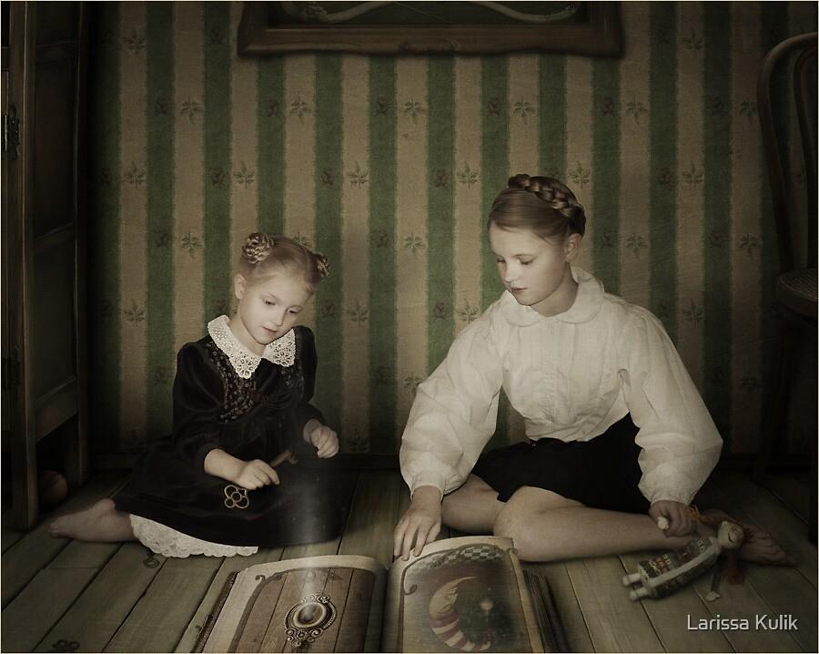 Open the door ... by Larissa Kulik