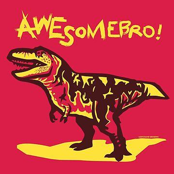 Awesomebro Tyrannosaurus Rex by anatotitan
