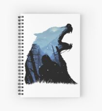 Jon Snow - King of The North Spiral Notebook