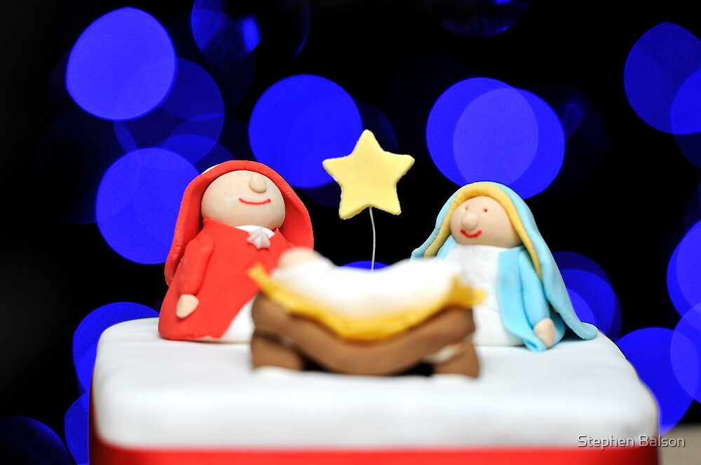 Nativity Cake by Stephen Balson