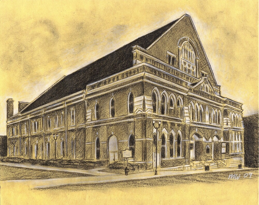 Ryman Auditorium, Mother Church of Country Music by MattWolf