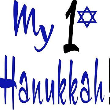 My 1st Hanukkah by PeppermintClove