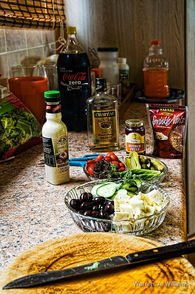 Xmas Dinner Prep by Warren. A. Williams