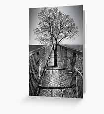 Dare to Move Greeting Card