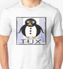 TUX:  STRAIGHT-UP Unisex T-Shirt