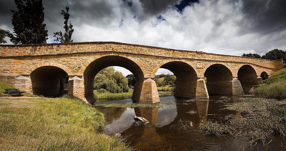 Richmond Bridge, Tasmania by Ashpix
