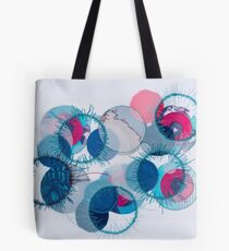 stitched circles Tote Bag