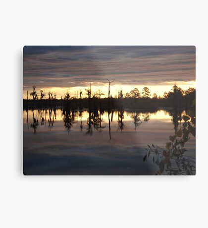 Holding Up the Clouds Metal Print