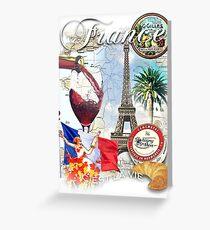 france Greeting Card