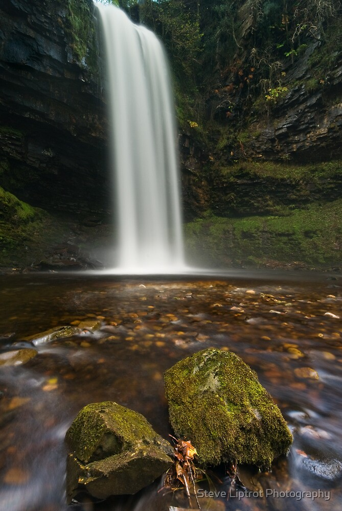 Henrhyd Falls, Brecon Beacons by Stephen Liptrot