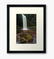 Henrhyd Falls, Brecon Beacons Framed Print