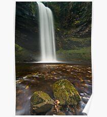 Henrhyd Falls, Brecon Beacons Poster