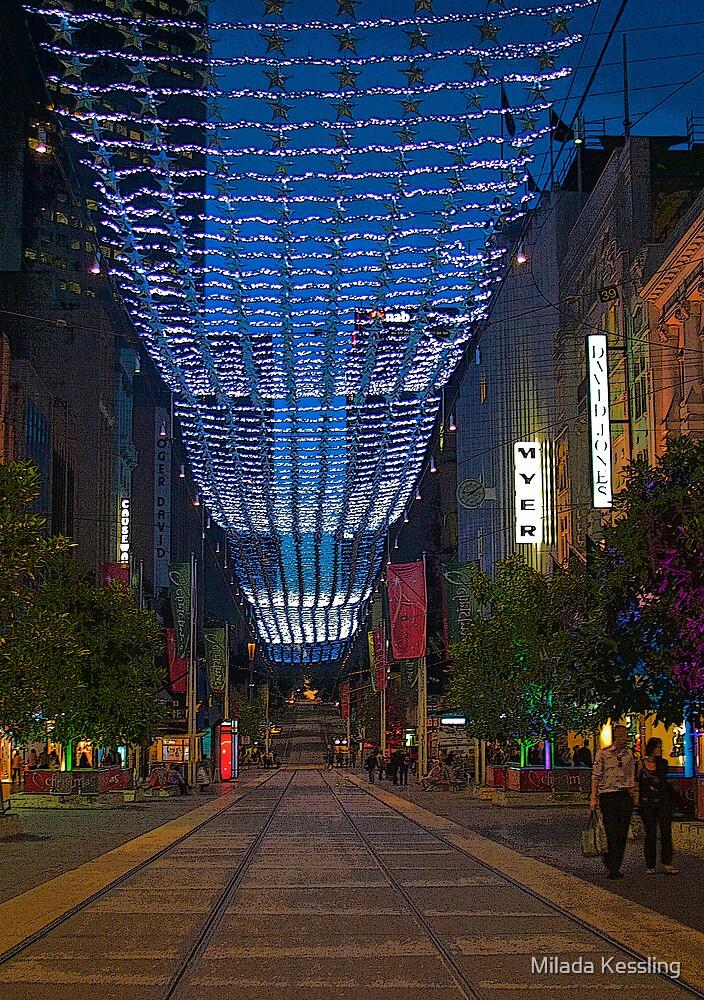 Burke Street Before Christmas by Milada Kessling