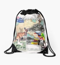 austraila Drawstring Bag