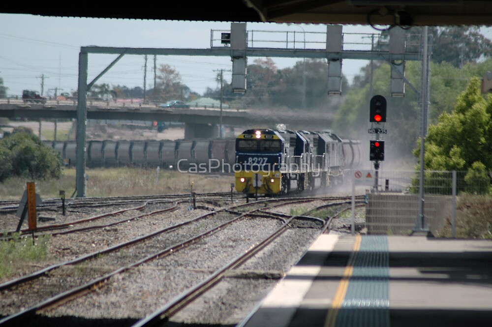 Coal Train - NSW by CasPhotography