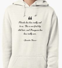Brandon Thomas famous quote about cool Pullover Hoodie