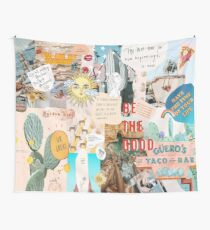 SUMMER COLLAGE TAPESTRY - PHONE CASE Tapestry