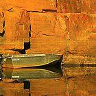Moored at Katherine Gorge by myraj