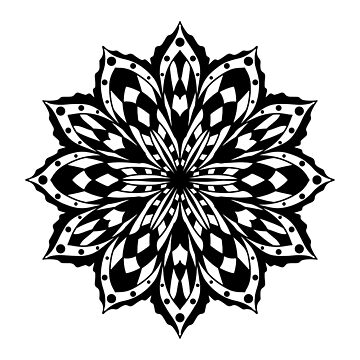 Black Flower by cartoonblog