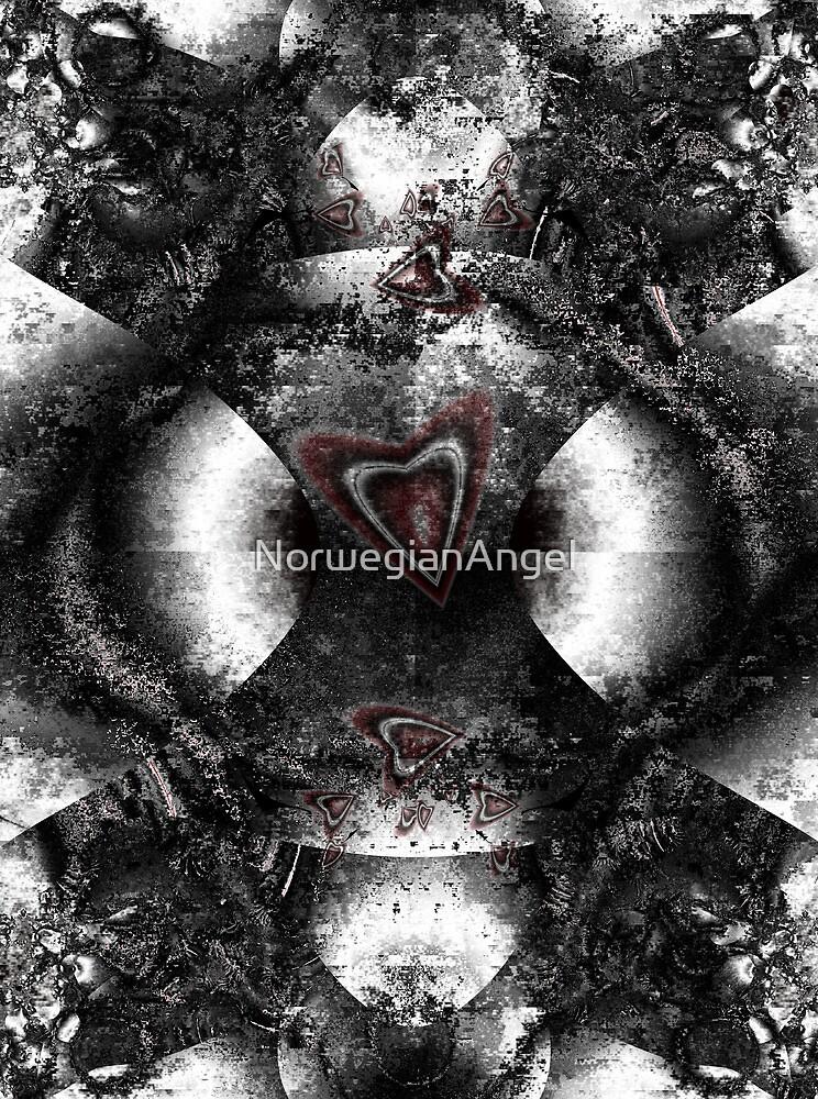 Black Heart Romance by NorwegianAngel
