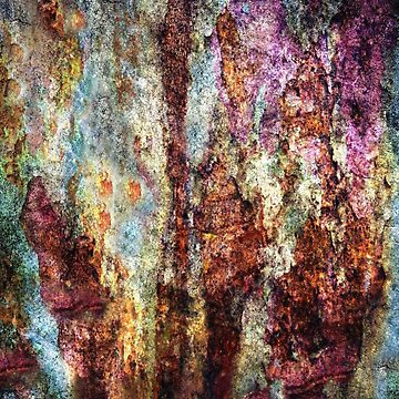 Painted Textured Grunge in Rust by JMarielle