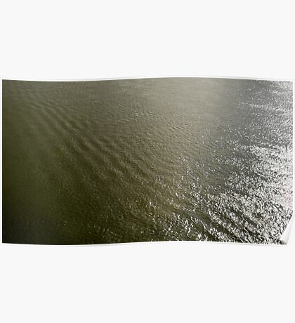 Ripples on the Rhine Poster