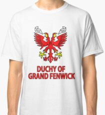 Duchy of Grand Fenwick - Coat of Arms Classic T-Shirt
