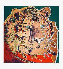 Sibirischer Tiger - Andy Warhol Fotodruck