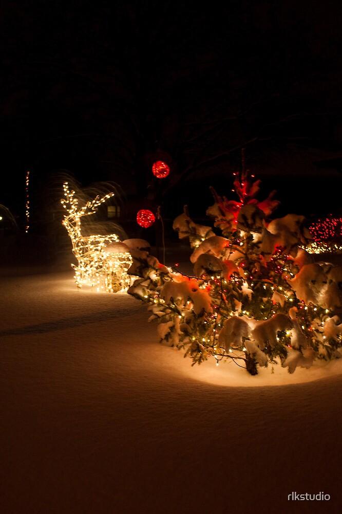 CHRISTMAS LIGHTS by rlkstudio