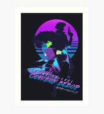 Cowboy Bebop Spike Spiegel Art Print