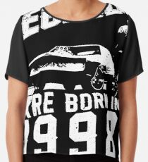 Legends Are Born In 1998 Chiffon Top